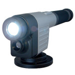 Portable DVR with built in flash light